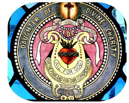 The emblem of the Daughters of Divine Charity