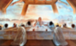 The Sacrament of the Last Supper, Salvador Dali (1955)