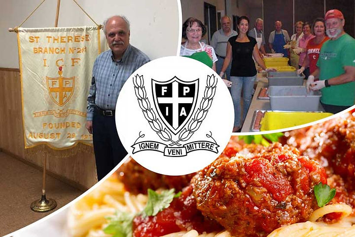 Italian Catholic Federation at St. Therese Catholic Church - events photo collage