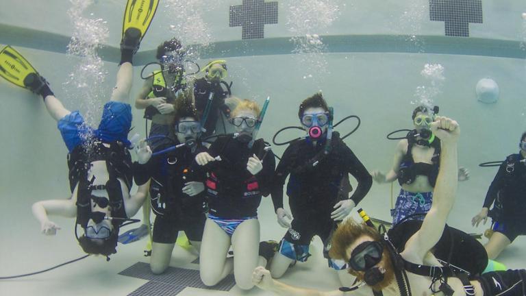 Basic Open Water SCUBA Training