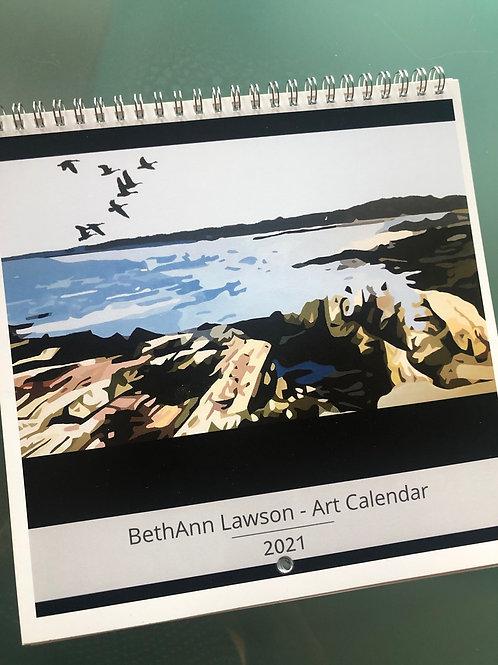 2021 Art Calendars