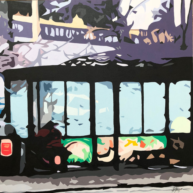 SOLD - Bus Stop