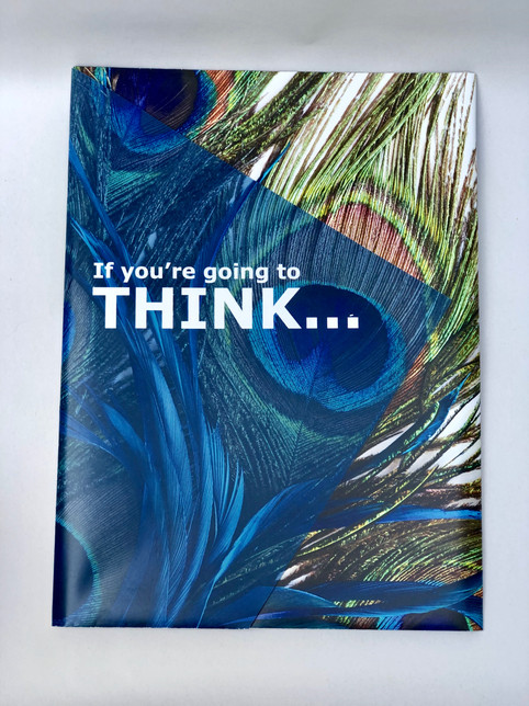 Wide Format Peacock Themed Print Marketing Campaign (1)