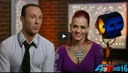 Shane and Shannon Ballroom Dancers on America's Got Talent