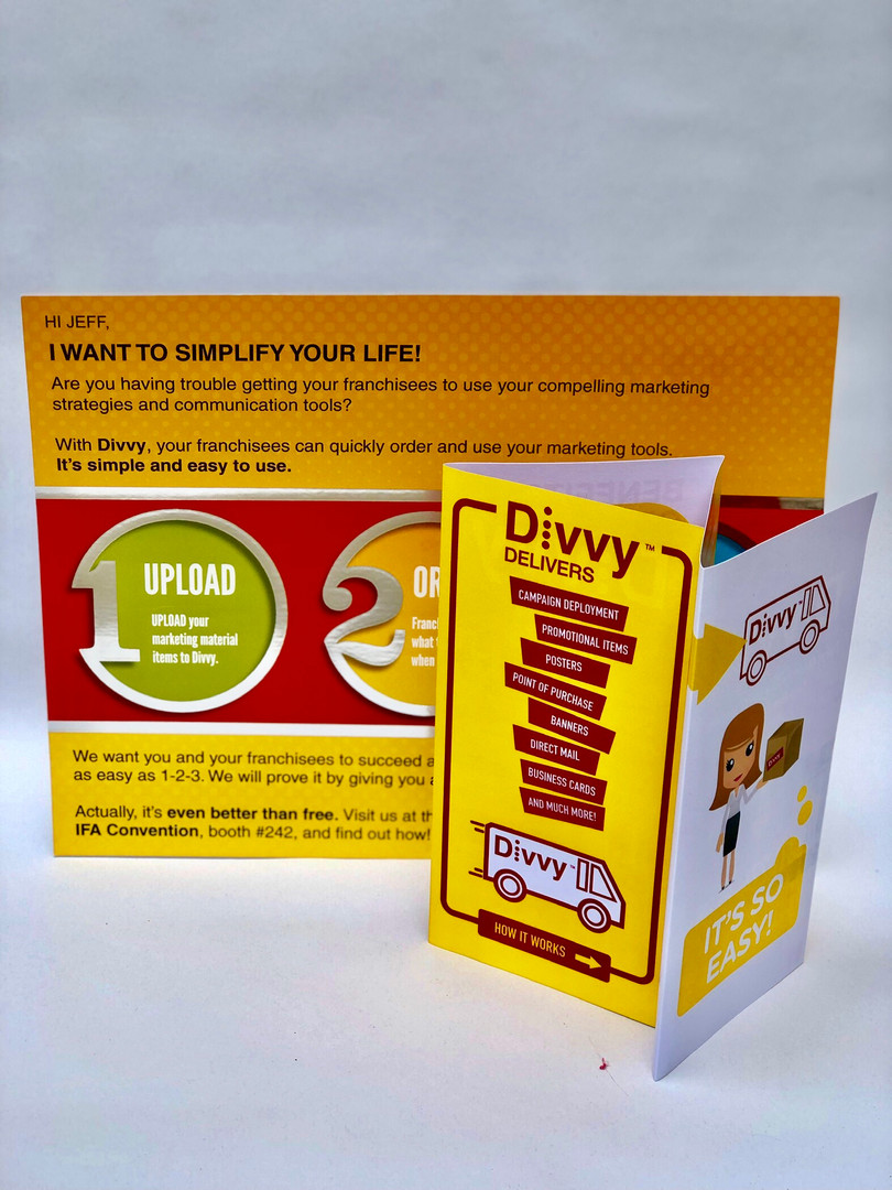 Oversized Direct Mail Campaign (2)