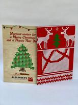 Company Christmas Card (on Wood) (2)