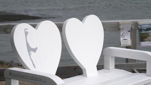 Das Hochzeitsbänkli auf Sylt im Sylter TV