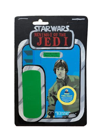 1983 Kenner Luke Skywalker (Bespin Fatigues) Prototype Card