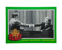 Fictional 1972 Topps World Chess Championship Trading Card
