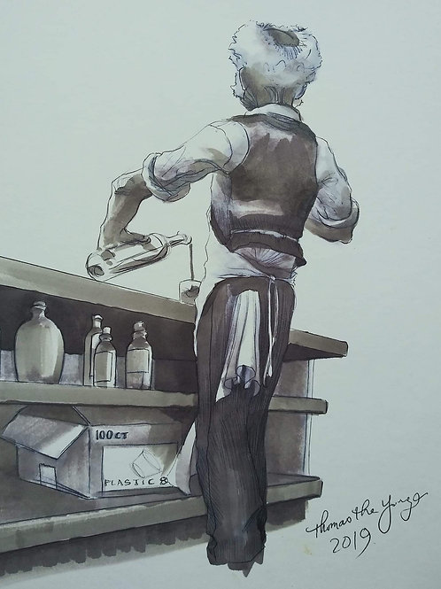"Grey Noir (4): Matteo ""Maestro"" Vecchio"