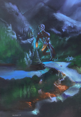 Olókun Attempts to Purge the River Qil
