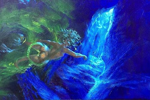 Seanidaria (Bioluminescent JellyMaid Of Skymouth)