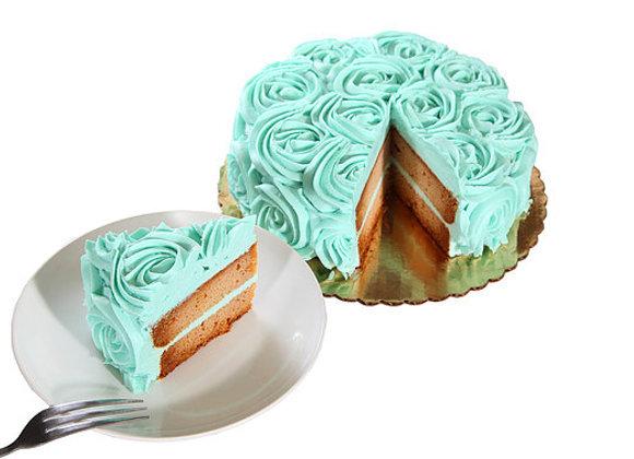 Blue Love cake 8 inch