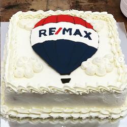 Company Logo Cake