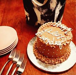 Mini Chocolate Birthday Cake