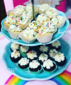 Birthday Mini Cupcakes