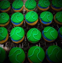 Vegan Mini Cupcakes- Heart of Tefiti