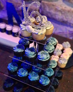 Blue Ombre' Cupcakes