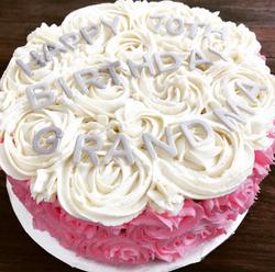 NS Signature Rose Cake