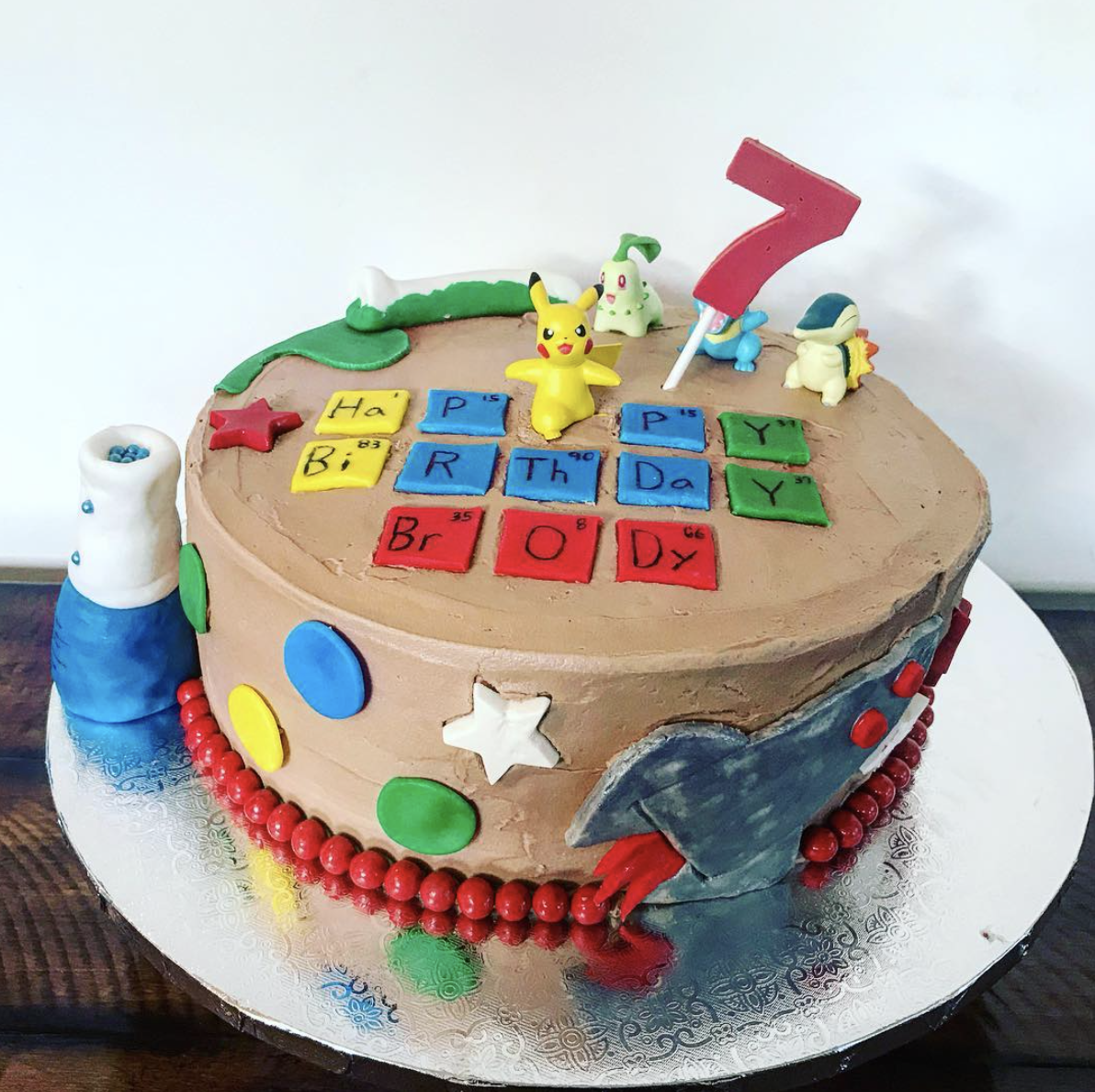 Mad Science Birthday Cake