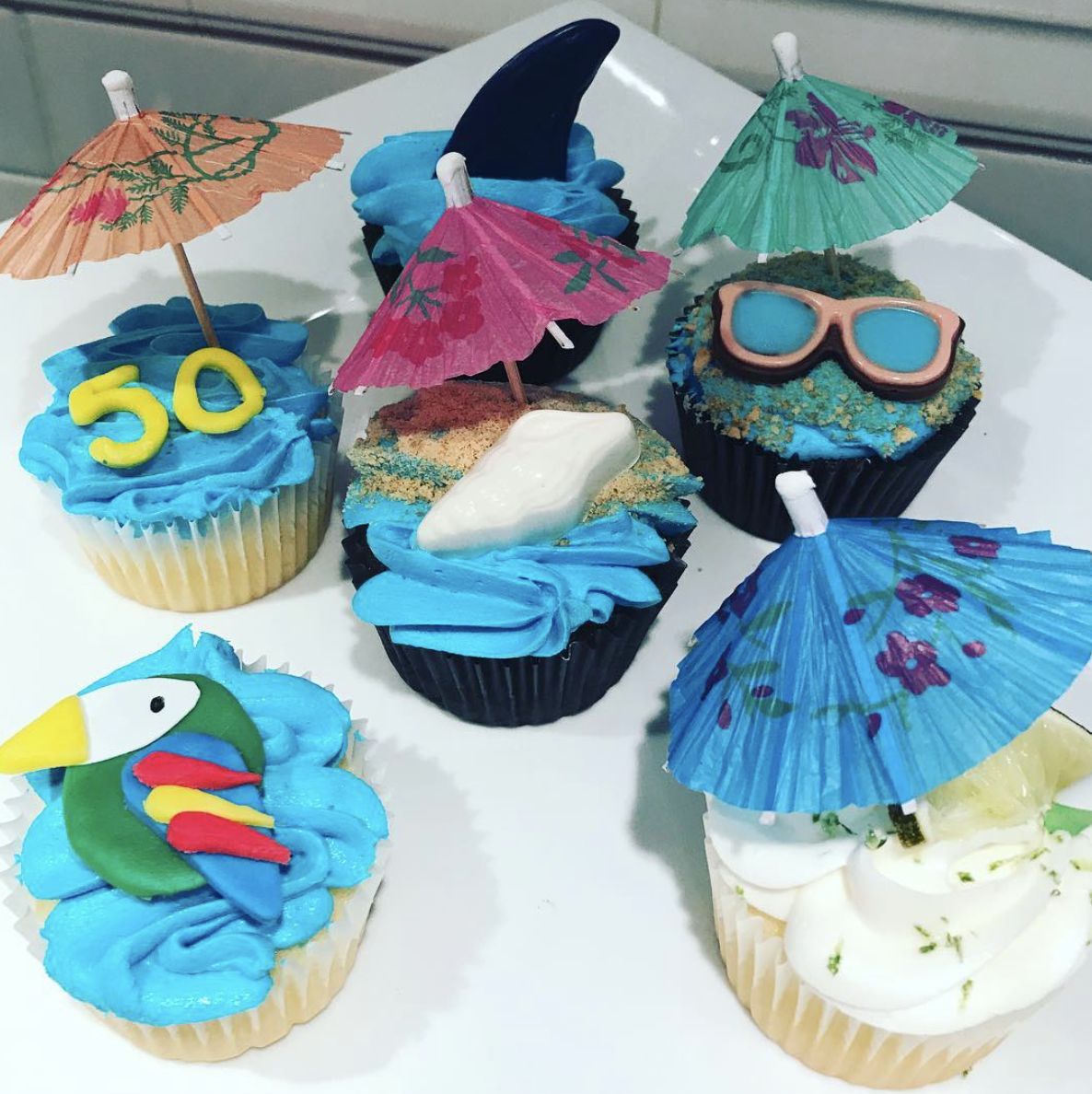 Jimmy Buffet Cupcakes