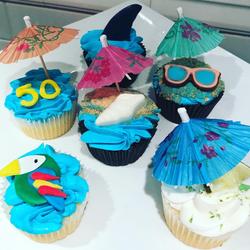 Jimmy Buffet Cupcakes