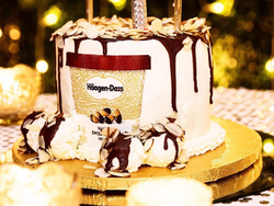 Pint of Ice Cream Cake