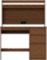 Desk With Hutch - Front.png