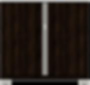 TV Chest 36W x 18D x 34H - Columbian Wal