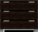 3-Drawer Offset 42W x 20D x 36H - Columb