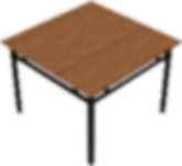 Dining Table - Metal Base.png