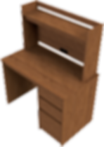 Desk With Hutch - ISO.png