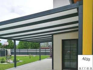 Terrassendach Heatstop fix