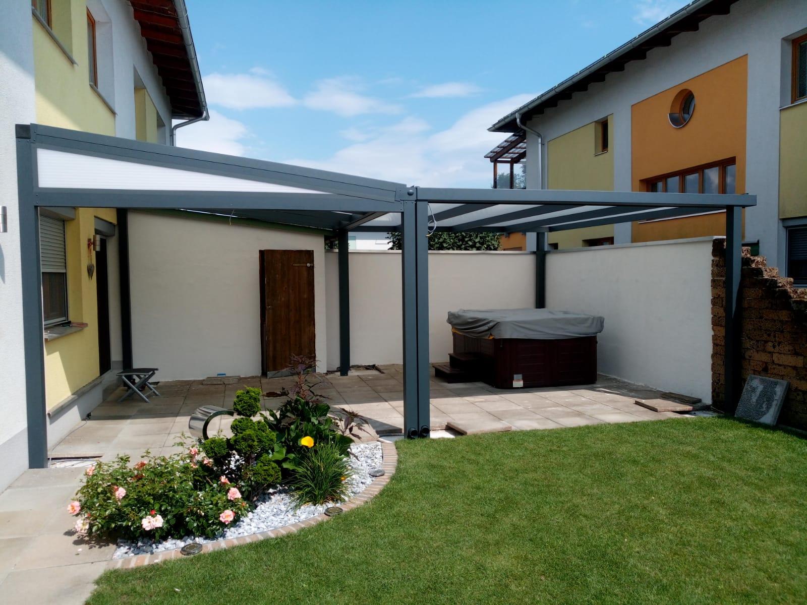 Terrassendach HEATSTOP® Selbsttragend