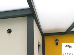 Terrassendach Heatstop Detail