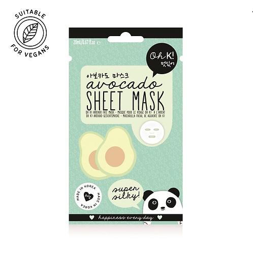 Oh K! Sheet Mask - Avocado