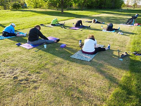 Caitlin Moyer Golf Yoga The Practice Sta