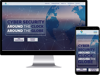 Web designs for security services