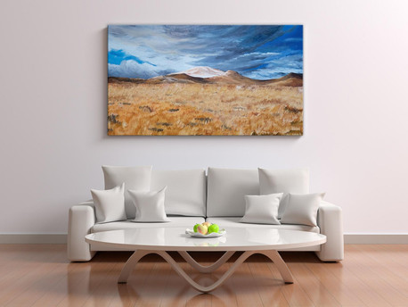 Commissioned Landscape Oil Painting