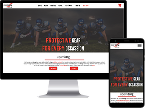 User Experience Design for athletic gear sites