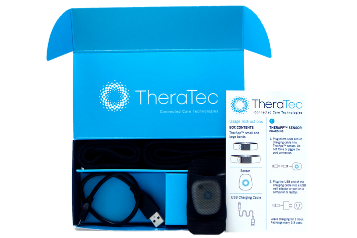 Theratec package photoshoot
