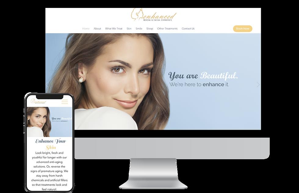 Webste design for Enhanced MN