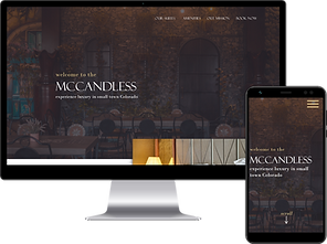 Web Design for a hotel