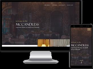 Web Design for a hotel