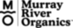 Black Murray River Organics logo.png