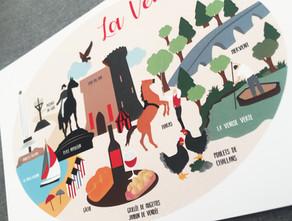 Carte postale de la vendée