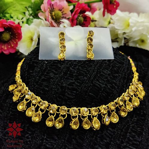 ABA -  Golden necklace Set