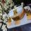 Thumbnail: ABA - Peach colored Onyx & Stone Choker Set