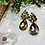 Thumbnail: ABA - Honey Gold Teardrop Earrings