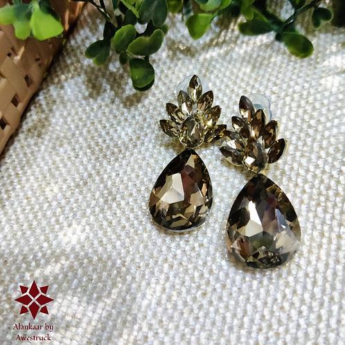 ABA - Honey Gold Teardrop Earrings